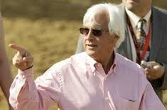 Currently third in the trainer standings, Bob Baffert can close the gap with a big day.